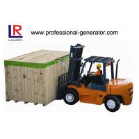 Buy cheap 8 - 10T Heavy Duty Isuzu Engine Lift Diesel Forklift Truck 4 Wheel Counterbalance product
