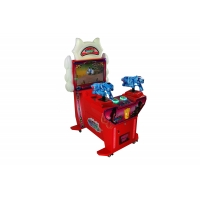 Buy cheap Stereo Sound 2 Player  22 Kids Shooting Game Machine from wholesalers