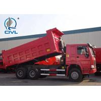 Buy cheap High Speed 30 Ton Dump Truck / HOWO Automatic Dump Truck 290HP/280kw from wholesalers