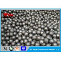 China Special high chrome casting steel Balls for Cement plant / mining HRC 60-68 on sale