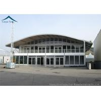 Buy cheap Dome Aluminium Glass Wall Tents Double Deck  For Commercial Activities from wholesalers