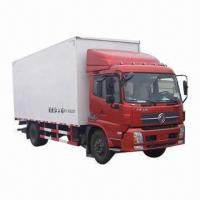 Buy cheap Van truck, length 6500mm, width 2400mm, height 2700mm, rated loading weight 5900kg from wholesalers