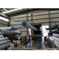 Buy cheap PreGi hot Galvanised Steel Tube with thread / fire Round Steel Pipe with cap from wholesalers