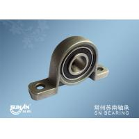 China Mounted Bearing Units , Zinc Alloy Pillow Block Ball Bearing Flange Block KP005 KP002 on sale