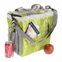 Buy cheap lunch cooler bags with compartments 24 Can Stowe City Tote Insulated Hot Cold Shoulder Bag lunch bag from wholesalers