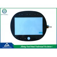 Buy cheap ITO Glass 7 Capacitive Touch Panel Overlay Industrial High Sensitivity from wholesalers