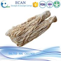 Buy cheap Super Quality 36/38 Caliber and Fresh Natural Salted Hog Casings in Hot Sale from wholesalers