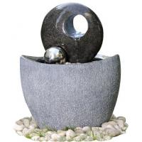 Buy cheap Polished Finishing Contemporary Sphere Garden Fountain With Lights  from wholesalers