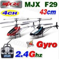 Buy cheap MJX 43CM 4CH F29 2.4Ghz MEMS Servo GYRO With Camera Video Metal LCD PRO Controller RC Coaxial Helicopter Wholesale from wholesalers