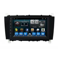 Buy cheap Android Mercedes Benz C - Class Double Din Car Dvd Player GPS Navigation Head Unit from wholesalers