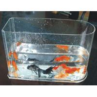 Quality 5 / 10 Gallon Custom Acrylic Fish Tank With Simple Arch For Home for sale
