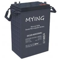 Buy cheap Golf cart battery, EV battery, deep cycle battery, 6V 335Ah, equivalent of Trojan J305P from wholesalers