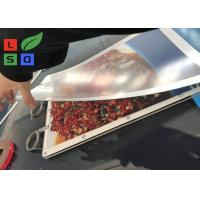 Buy cheap Ultra Thin Super Bright A3 Size LED Magnetic Crystal Light Box With Single Cable Hanging System from wholesalers