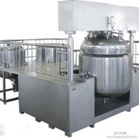 Buy cheap 30L Cosmetic Vacuum Emulsifying Mixer With Vacuum Pump , Emulsifying Blender from wholesalers