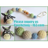 Buy cheap amigurumi helicopter Nursing necklace Breastfeeding necklace with crochet toy from wholesalers