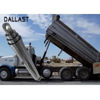 Buy cheap One Acting Telescopic Hydraulic Cylinder Agricultural Farm Truck Chrome Plating from wholesalers