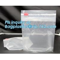 Buy cheap Child Risistance exit bags, mylar bags, safe security bag, airproof,waterproof,Tobacco Leaf Packaging Pinch N Slide Exit from wholesalers