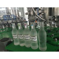 Buy cheap Small Glass Bottle Champagne / Sparkling Wine Filling Machine , High Efficiency 3 in1 Filling Machine from wholesalers