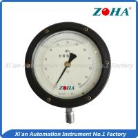 Buy cheap Non - Corrosive Precision Pressure Gauge 4 Inch With Oil Filled Customized Size from wholesalers