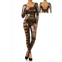 Buy cheap long sleeves Leopard lingerie suit from wholesalers