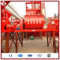 Buy cheap Weightless Double Twin Horizontal Shaft Paddle Compulsive Foam Concrete Mixer Lightweight Ready Mix Js500 Mixing Machine from wholesalers
