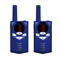 Buy cheap Factory hot sale plastic colorful cute handheld uhf 3-5km walkie talkie battery operated for boys and girls gifts from wholesalers