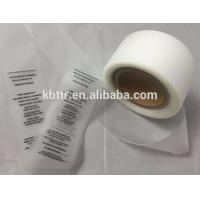 Buy cheap Thermal transfer printing clothing wash care label TPU label for garment from wholesalers