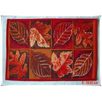 Buy cheap Leaves fancy design beatiful home decorative tapestry floor mats for car from wholesalers