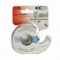 Buy cheap Flexible Magnetic Dispenser with Adhesive Backing, Easy to Cut with Scissor from wholesalers