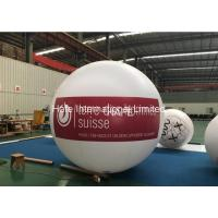 Buy cheap Hanging Ground Air Inflatable Helium Flying Led Glow Balloons 2.8m Diameter from wholesalers