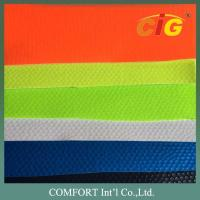 Buy cheap Width 137cm PVC Artificial Leather Non Woven Backing Material For Shoes product