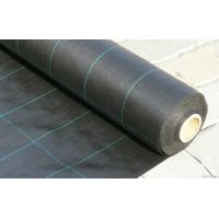Buy cheap Polypropylene Woven Plastic Ground Cover , 4.2x100m 100gsm Black Garden Fabric from wholesalers