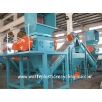 Buy cheap Plastic Washing Line For Waste plastic films bags , Plastic Recycling Equipment from wholesalers