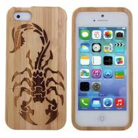 Buy cheap Laser engraving phone case For Iphone Case 6 Wood Bamboo, bamboo phone case for iphone 6 from wholesalers