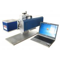 Buy cheap Co2 plan scanning laser marking machine for , acrylic, arts and crafts works, brand label and fabric from wholesalers