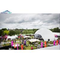 Buy cheap 20M Diameter White And PVC Exhibition Dome Tent Geodesic For Event from wholesalers