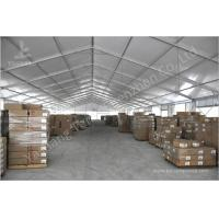 Buy cheap Outdoor Industrial Tent Structures Waterproof 100 km / h Wind Resistance from wholesalers