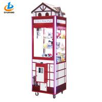 Buy cheap Life Sized Red Doll Crane Machine With Fireproof Roof Telephone Hall Shape from wholesalers