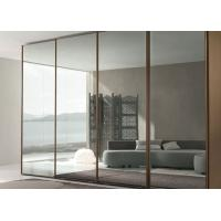 Buy cheap Custom Silver Mirror Sheet , 3~6mm Thickness Round Silver Wall Mirror from wholesalers