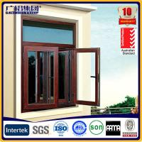 Buy cheap Silver anodized aluminium profiles fabricate windows&doors with fly screen from wholesalers