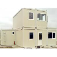 Buy cheap Commercial Reusable Metal Shipping Containers For House - Building Project from wholesalers
