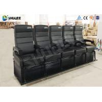 Buy cheap Electric Dynamic System 4D Cinema Equipment Red / Black Cinema Chair For Theater product