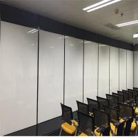 Quality Aluminum Frame Banquet Hall Gypsum Board Wood Removable Sliding Partition Walls for sale