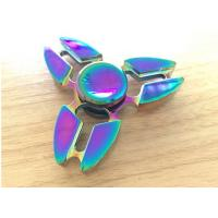 Buy cheap Beautiful Alloy 3 Leaves Hand Spinner Fidget Toy Addictive Fidget Toys from wholesalers