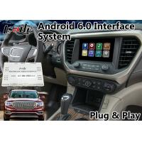 Buy cheap Android 6.0 GPS Navigation Box for 2014-2018 GMC Acadia built in WIFI Mirrorlink and Bluetooth from wholesalers