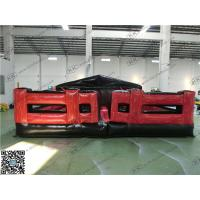 Buy cheap Red Inflatable Sports Games For Advertising Obstacle Flame Retardant from wholesalers