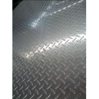 Buy cheap 304 Cold Rolled And Hot rolled Tear Drop Stainless Steel Chequered Plate For Skid Resistance from wholesalers