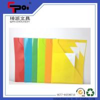 Buy cheap PP Stationery Supplier A4 Loose Paper Customized Translucent L shaped File Folder from wholesalers
