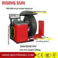 Buy cheap CE Approved Semi Automatic 380V Truck Wheel Balancer for Garage Equipment from wholesalers