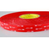 Buy cheap 1mm Transparent Double Sided Acrylic Foam Adhesive replacement 3M VHB Tape 4910 from wholesalers